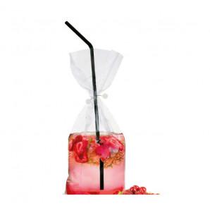 Cocktail bag transparent 30 cl