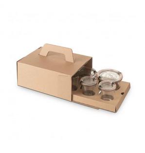 Cale carton kraft pour gamme Boko et Pot à Soupe