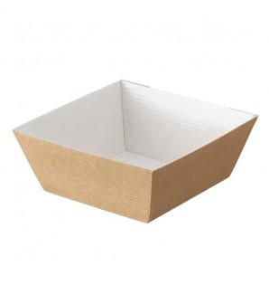 Bol Cubik carton kraft 55 cl