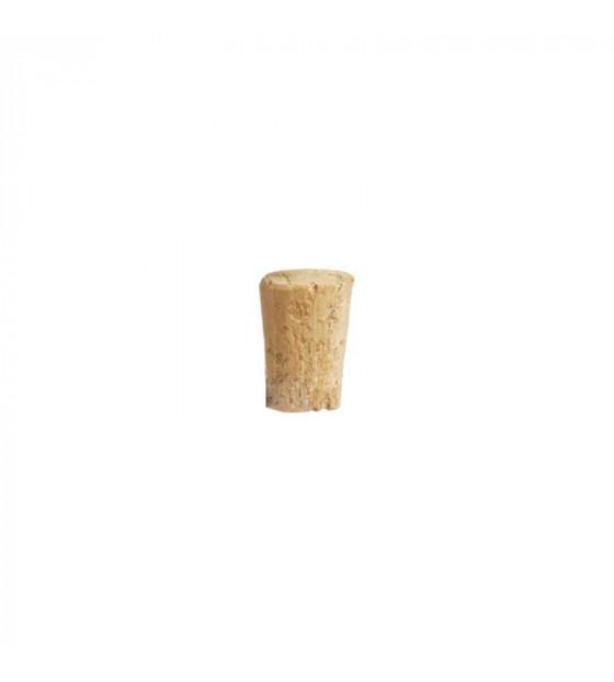 Bouchon en liège conique