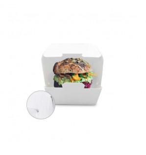 Mini Box Burger carton micro-cannelures