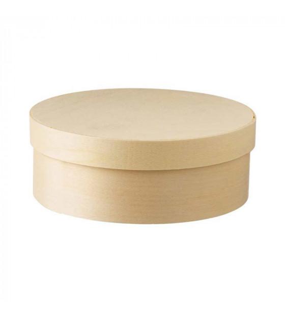 Grande Wood Box avec caissette et couvercle 1 L