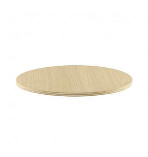 PLATEAU BOIS ROND 280 mm