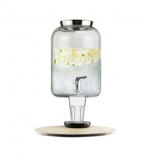 Fontaine à boisson en verre 7 litres
