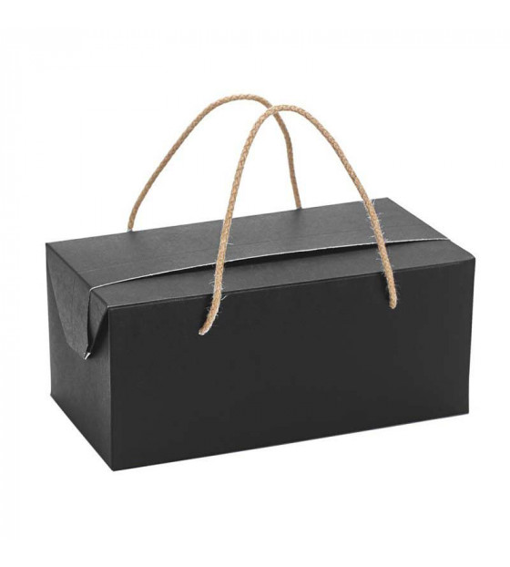 Coffret Faubourg noir avec cordelettes