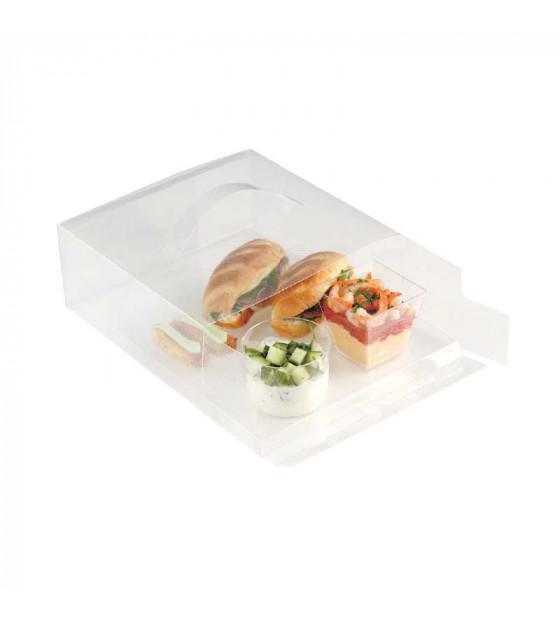 Coffret Easy Lunch PP translucide