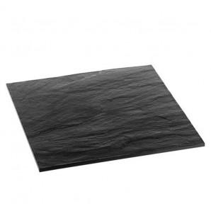 Grande assiette Textura carrée 27x27