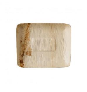 Assiette palmier Ekopalm rectangulaire 170x140