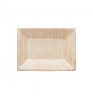 Assiette rectangulaire Palma en palmier 170x120