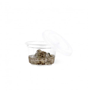 Mini saucière transparente 3 cl