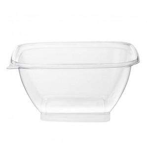 Saladier transparent carré 1,5 L
