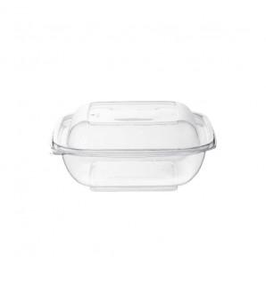 Saladier transparent carré 75 cl