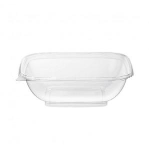 Saladier transparent carré 1 L