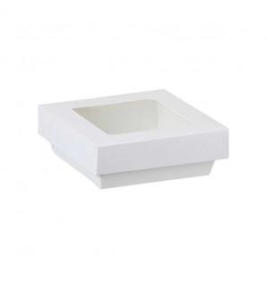 Barquette carton Natural blanche 50 cl