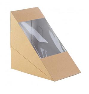 CLUB SANDWICH BOX KRAFT
