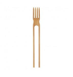 Fourchette et pinces Comby chop bambou