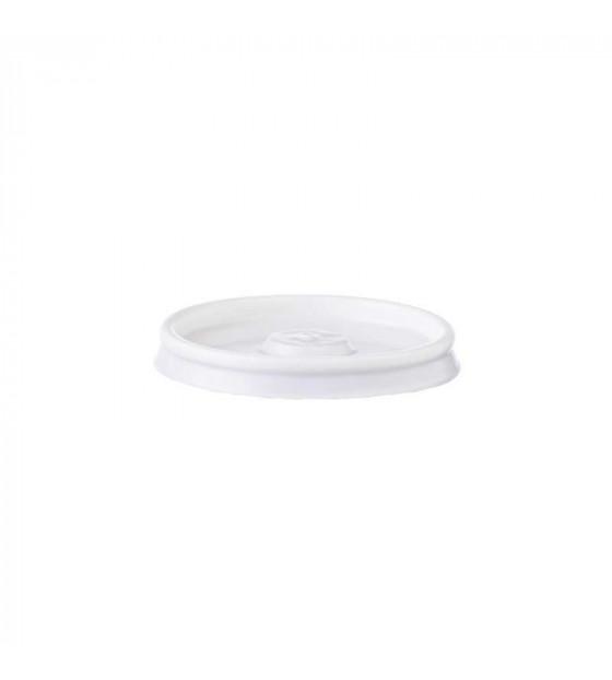 Couvercle micro-perforé pour gobelets carton 10 cl