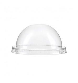 Couvercle dôme PLA pour gobelet PLA 40 cl