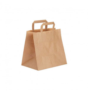 Sac Traiteur papier kraft naturel 260x170xh240