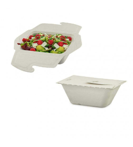 Meal Box bagasse 75 cl