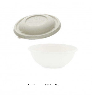 COUVERCLE MEAL BOL BAGASSE