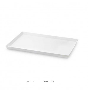 Plateau Caterlux carton blanc Atlas 1/2