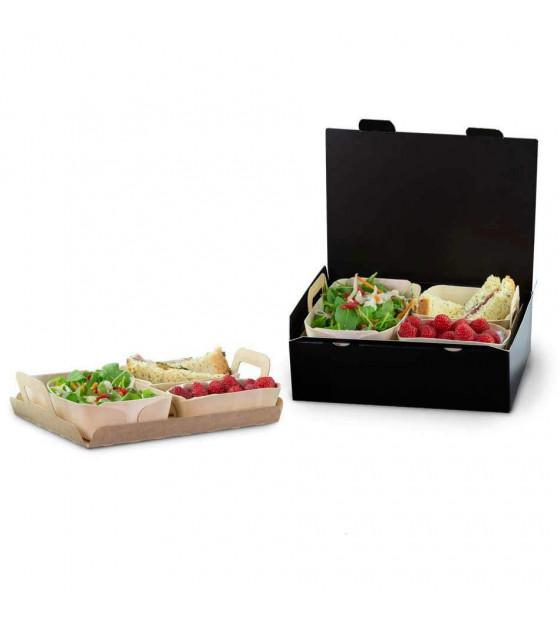 Formule repas individuel Essentiel assiettes Madera
