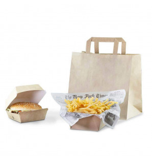 Formule sac kraft burger -...