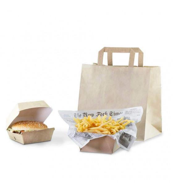 Formule repas individuel Burger frites