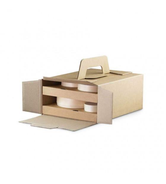 Formule repas Bokobox avec Woodbox en bois pour 2