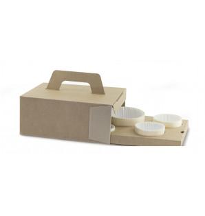 Cale carton kraft pour Woodbox 4 pré-perforations