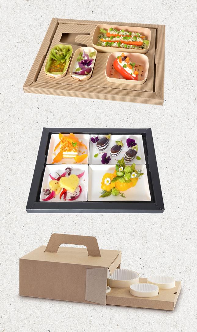 plateaux repas et box
