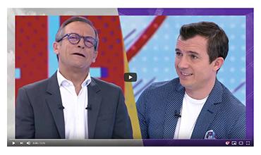 Comatec - Association Croq'L'Espoir à l'Hôpital Necker-Enfants malades - Télé Matin France 2